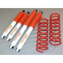 Nissan Terrano 2 3p +25/50mm Kit suspension Trail Master