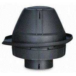 Pré-filtre cyclonique auto nettoyant sans protection