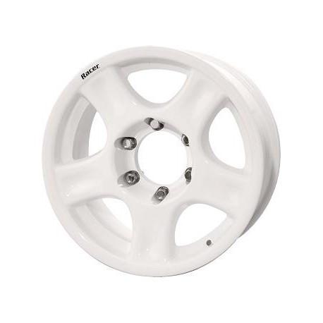 JANTE ALU RACER 8 X 16 5x150 ET0 CB110.5 / White