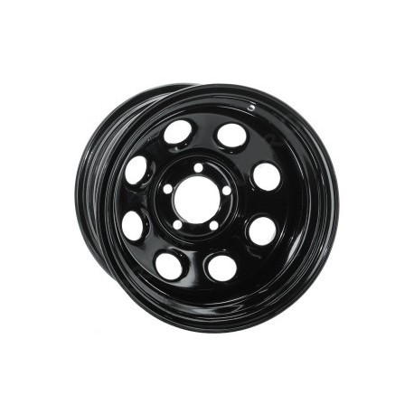 Soft 8 noir mat - 8x16 - 6x139.7 - Dep -25