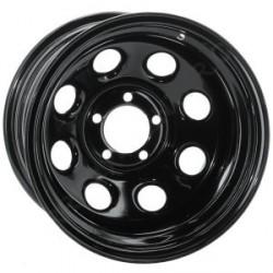 Soft 8 noir mat - 10x15 - 5x114.3 - Dep -44