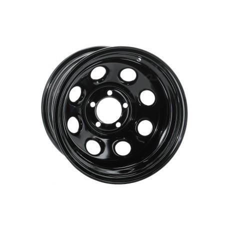 Soft 8 noir mat - 8x17 - 5x127 - Dep 10