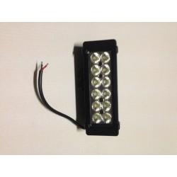 Barre 12 LEDs faisceau droit